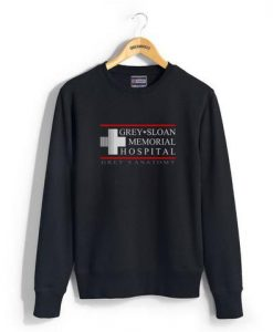 grey sloan memorial hospital sweatshirt BC19