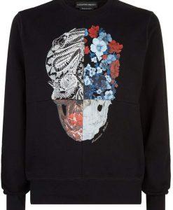 Alexander McQueen Patchwork Skull Sweatshirt AD01