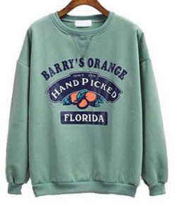 Barry's Orange Florida Sweatshirt SN01