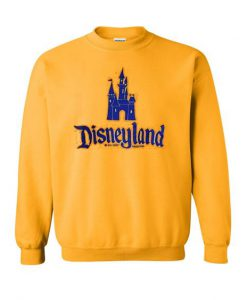 Castle Disneyland Yellow Sweatshirt SN01