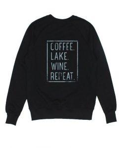 Coffee Lake Wine Repeat Sweatshirt AD01