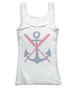 Softball Fitted Tank Top EC01