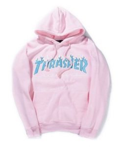 Thrasher Pink Hoodie AD01
