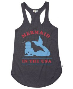 Women's Mermaid in the USA Tank Top EC01