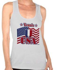 Tennis USA Tank Top SN01