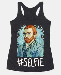 Van Gogh Selfie Tank Top AD01