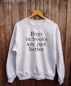 boys in books are better hoodie LP01
