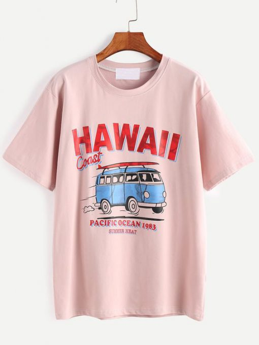 Hawaii Coast T-Shirt EL01