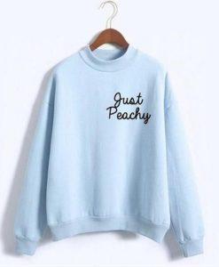 Just Peachy Sweatshirt SN01