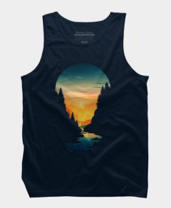 Sunset From River TankTop GT01