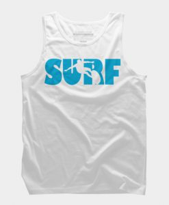 Surf White Tank Top GT01