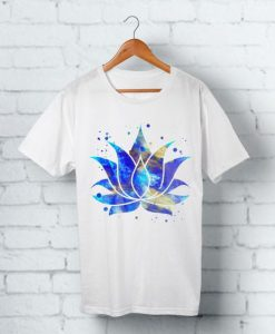 Watercolor Lotus T-Shirt EL01