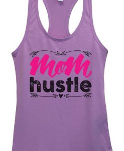 Women Mom Hustle Tank Top EL01