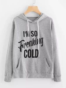 I'M So Freaking Cold Hoodie GT01