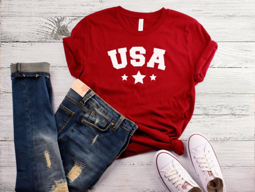 USA Woman III T-Shirt GT01