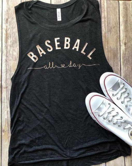 Baseball All Day Tank Top GT01