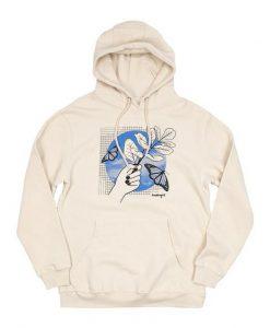 Butterfly Grid Hoodie GT01