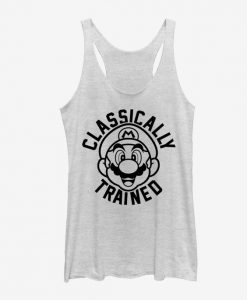 Super Mario Classically Trained Girls Tank KH01