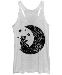 The Cat in the Moon Tank Top GT01