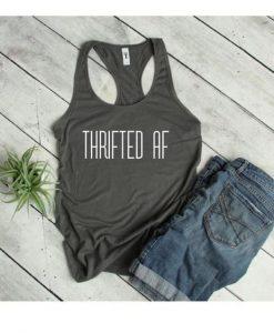 Thrifted Af Tank Top GT01