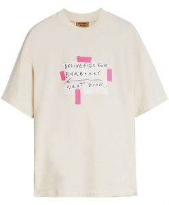 BURBERRY SIGN PRINT Tshirt ER01