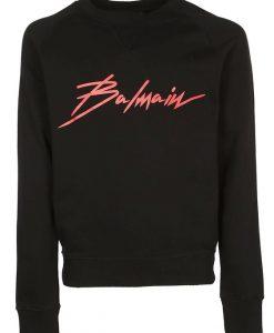 Balmain Black Sweatshirt EM01