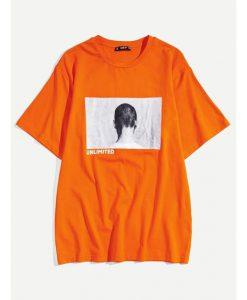 Men Letter T-shirt ER01