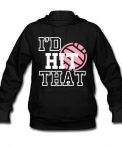 Volleyball players Hoodie AI01