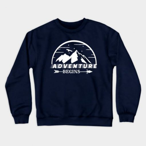 Adventure Begins Sweatshirt SR30N