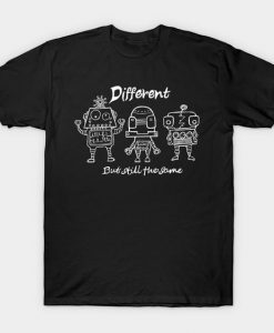 All the same robots Tshirt EL20N