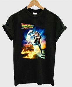 Back To The Future Tshirt EL21N
