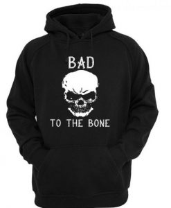 Bad to the bone Skull Hoodie FD29N