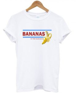 Bananas In The Bahamas Tshirt EL21N