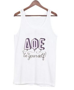 Be Your Self AQE Tanktop FD29N