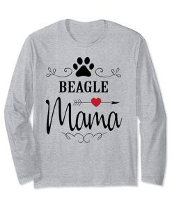 Beagle Mama Dog Sweatshirt SR30N