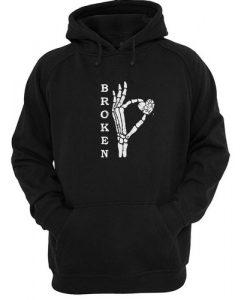 Broken Heart hoodie FD29N