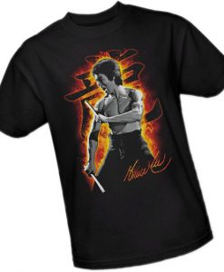 Bruce Lee Adult T-Shirt N21FD