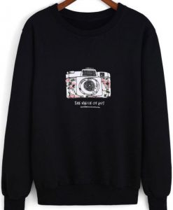 Camera Sweatshirt N21FD