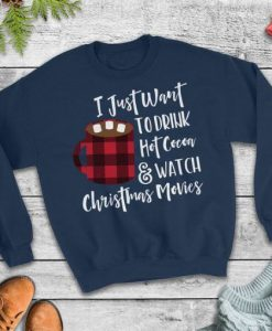 Christmas Movie Sweatshirt N21FD