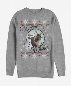 Christmas Warm Wishes Sweatshirt N21FD