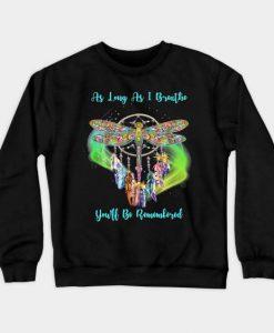 Dragonfly Design Sweatshirt SR30N