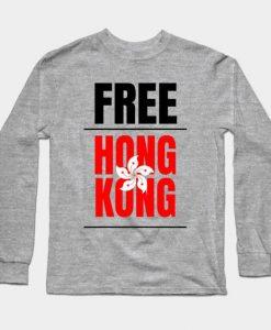 Free Hong Kong Sweatshirt SR30N