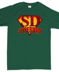 Super Dad Man T-Shirt N21FD