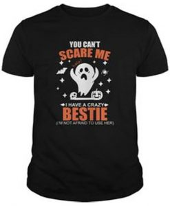 You Cant Scare Me Tshirt EL21N
