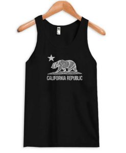 california republic beer Tanktop FD29N