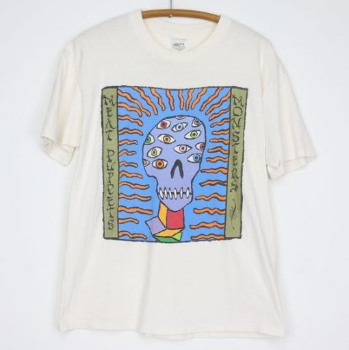 1989 Meat Puppets Monsters Shirt N9FD