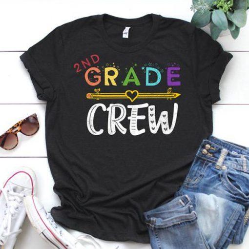 2nd Grade Crew t-shirt FD2D