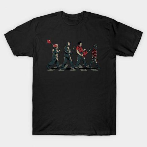 Abbey Horror T-shirt ER26D