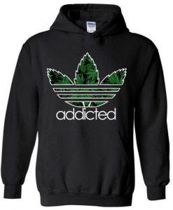 Addicted Marijuana Hoodie FD18D