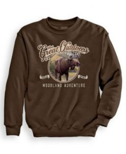 Adventure Moose Sweatshirt EL3D